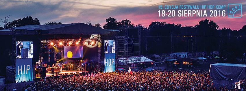 Hip Hop Kemp 2016 - 15. edycja Festiwalu z Atmosferą!
