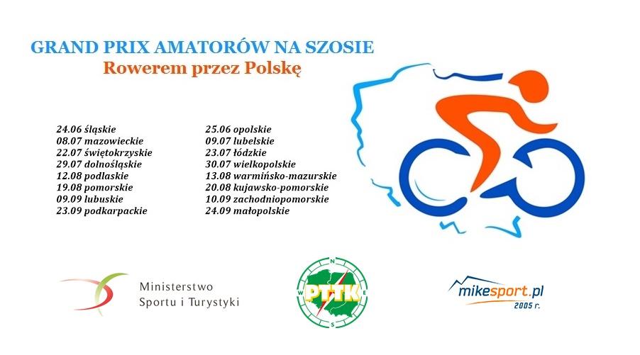 GRAND PRIX AMATORÓW NA SZOSIE Rowerem przez Polskę