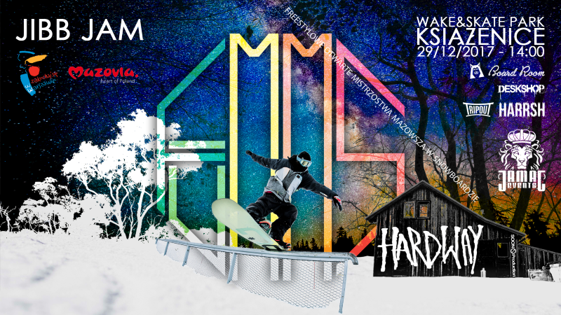 Freestylowe Otwarte Mistrzostwa Mazowsza w Snowboardzie FOMMS`17