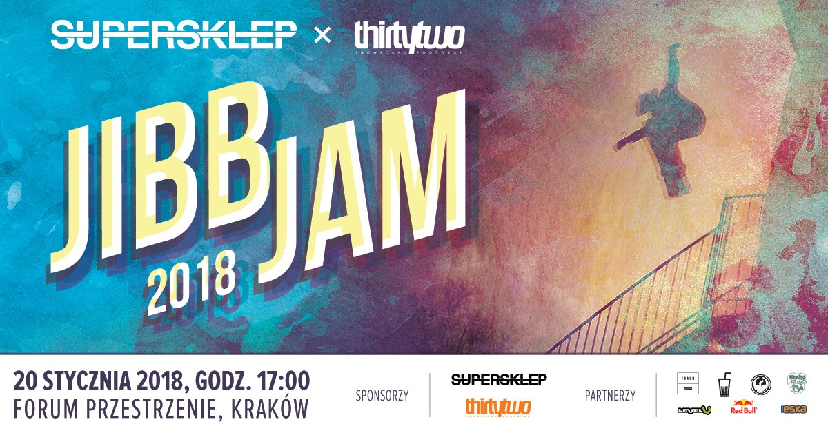SUPERSKLEP X Thirtytwo Jibb Jam 2018