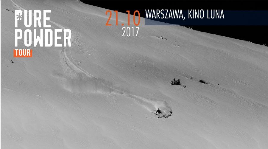 Pure Powder Tour Warszawa 2017