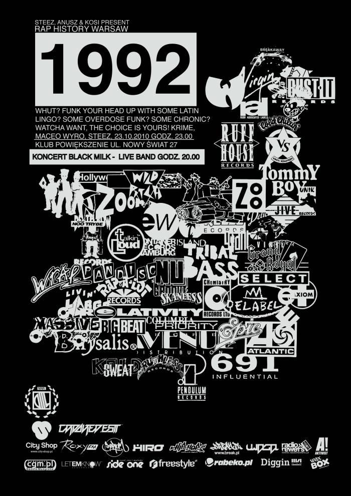 Rap History Warsaw - 1992