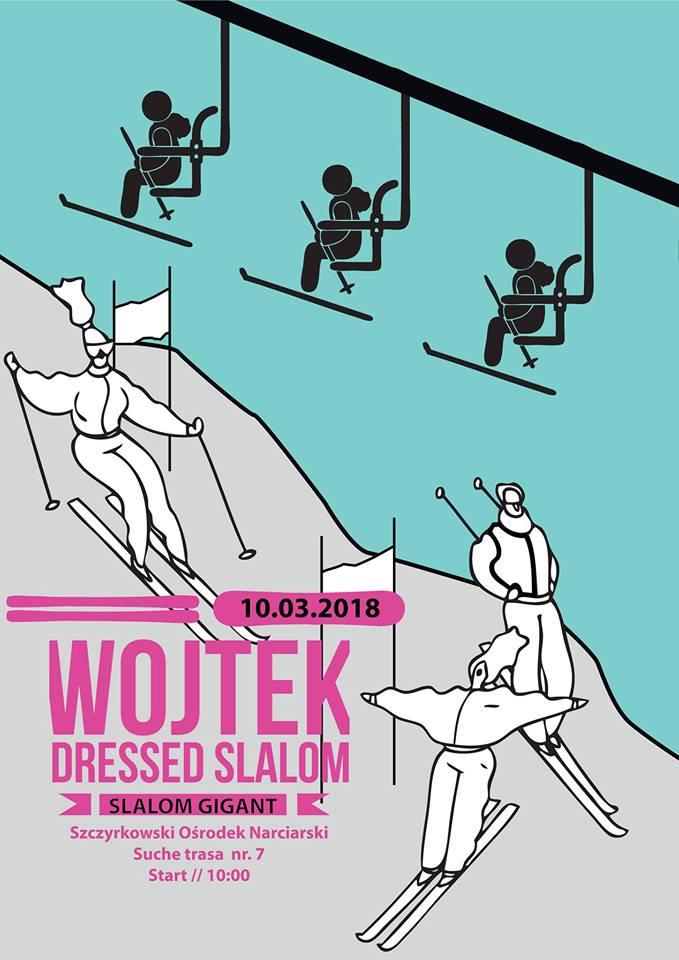 Wojtek Dressed Slalom 2018