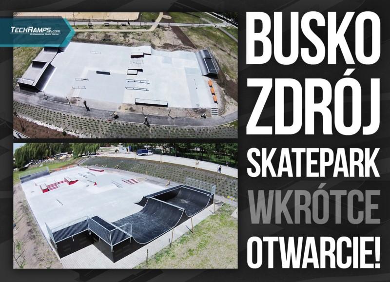 Skatepark Busko Zdrój