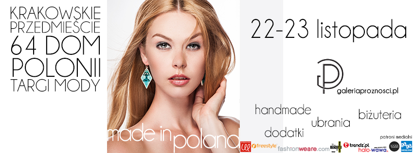 Targi Mody Made in Poland 22-23 listopada
