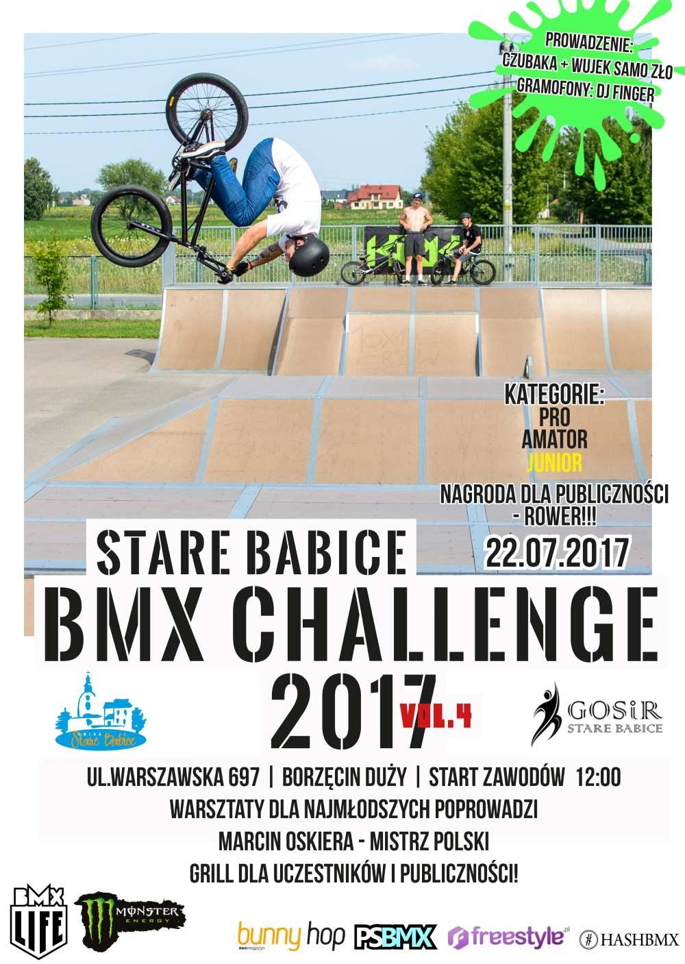 Stare Babice BMX Challenge 2017 Vol.4