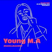Young M.A zasila line-up Hip Hop Kemp 2018