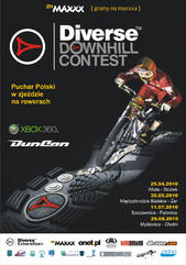 Plakat Downhill Contest 2010