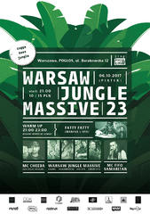 Warsaw Jungle Massive #23 Pogłos 06.10.2017