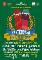 Skateboard For Everyone Contest 2012