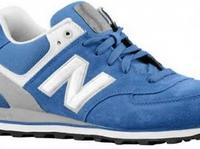 New Balance 574 Blue-White