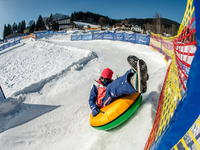 SkiResort ČERNÁ HORA - PEC, snowtubing