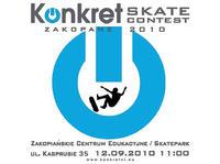 Konkret Skate Contest Zakopane 12 września