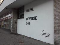 Na Pradze Południe powstały nowe murale Loesje