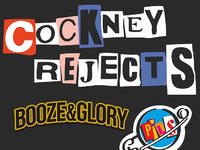 COCKNEY REJECTS, Booze&Glory, Pils