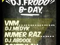 9.11 Warszawa: Dj Frodo B-DAY !