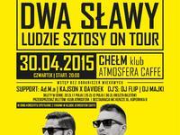 """koncert premierowy DWA SŁAWY promujący najnowszy album """"Ludzie Sztosy"""""""
