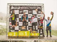 Diverse Downhill Contest Wisła 2017 - podium Elita