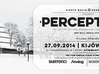 "Polska premiera filmu Pirate Movie Productions - ""PERCEPTIONS"" 27.09.2014 + After Party w klubie FOR"