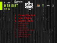 Cropp Baltic Games 2017 - wyniki MTB Dirt