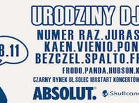 8.11 Warszawa: URODZINY DJa FRODO