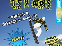 LES 2 ALPES EVENT 18-27 marzec 1449zł !!!