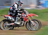 Trzej muszkieterowie.Motocross