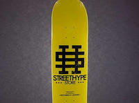 Street Hype Store Deck YELLOW/BLACK i BLACK/YELLOW
