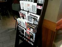 Drukowany Magazyn Freestyle w kawiarni Starbucks