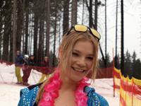 Bikini Skiing 2014