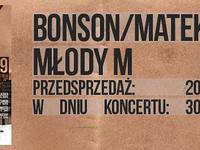 Młody M i Bonson/Matek w Gdańsku @ klub MEDYK    PrimoreCru
