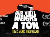 Rap History Warsaw The Labels - lesson 1: Stones Throw / Premiera filmu Our Vinyl Weighs A Ton / 14.