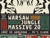 Warsaw Jungle Massive 20 - Łódź vs Warszawa - Mc's Clash