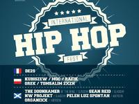 DE2S - INTERNATIONAL HIP-HOP FEST ABERDEEN & GLASGOW