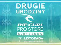 II UrodzinyY Rip Curl PRO Store