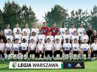 Zdjęcie pierwszego zespołu Legii -wiosna 2011