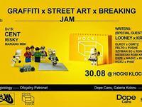 30.08 Warszawa: JAM: BREAKING / GRAFFITI / STREET ART