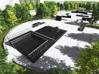 Skatepark w Piszu prawie skończony
