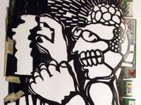 CUDOWNE LATA street art z kolekcji vlep[v]netu