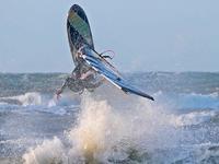 Świąteczny windsurfing na Bałtyku