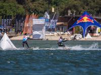Zawody o puchar Polski w kitesurfingu: pierwszy dzień już za nami