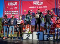 Poznaliśmy Mistrzów Polski w Motocrossie 2020 - podium MX125