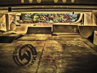 Nowe graffiti w Skateparku Węglowa Białystok