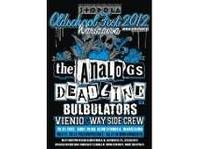 Oldschool Fest - The Analogs, Deadline, Bulbulators