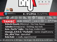 Warsztaty Beatboxowe na Bruk Festivalu 2013