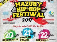 Oficjalny Plakat Mazury Hip Hop Festiwalu 2017!
