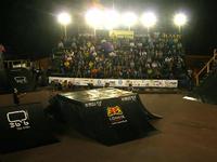 Baltic Games 2010 - Dzień I - BMX eliminacje Michał Steć