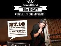SPECIAL BLEND 21st BDAY x SNOWCAMP otwarcie sezonu