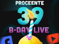 Proceente zaprasza na urodzinowy koncert online