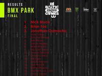 Cropp Baltic Games 2017 - wyniki BMX Park